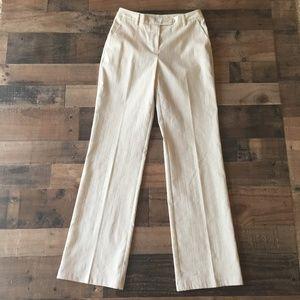 ST. JOHN Collection Linen Wide Leg Pant Trouser 2